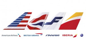 Transatlantic joint business tails: AA, BA, AY, IB