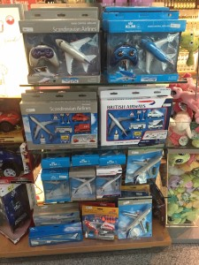 Podgorica Airport Shop - None of these airlines fly here
