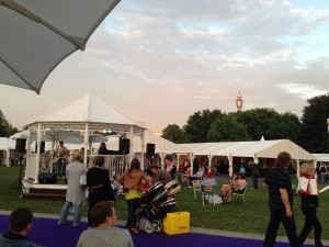 Taste of London Food Festival in Regents Park