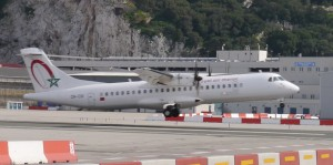 Royal Air Marco Express ATR-72 at Gibraltar Airport