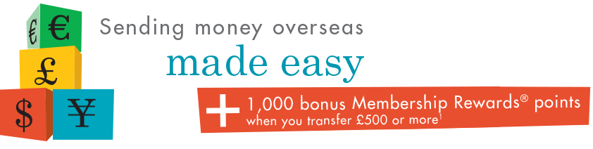 Amex Foreign Exchange Services - 1000 MR points signup