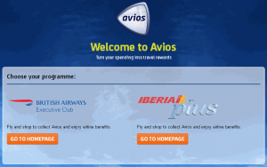 Avios.com other country choose scheme