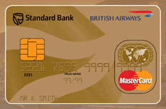 BA Executive Club Creditcard issue in South Africa