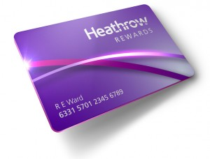 Heathrow Rewards card