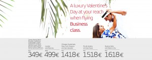 Iberia Valentines Day Offers from Madrid