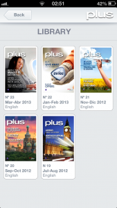Iberia Plus Revista iOS app