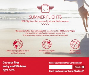 Iberia Plus - Summer Flights