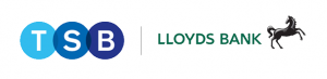 TSB Bank and Lloyds Bank logos