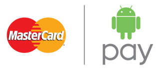 MasterCard and Android Pay logos