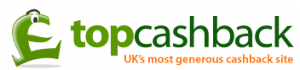 topcashback UK logo