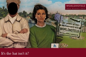World Hotels Peak Points Post card Compeititon